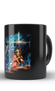 Caneca Zelda and Princess - Nerd e Geek - Presentes Criativos
