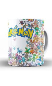 Caneca Pokemon Collection