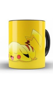 Caneca Anime Pokemon Pikachi Sleep - Nerd e Geek - Presentes Criativos
