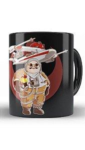 Caneca Anime Porco Rosso Pilot