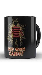 Caneca Freddy Krueger Who Wants Candy