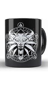 Caneca The Witcher Simbol