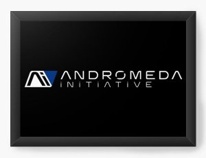 Quadro Decorativo A3 (45x33) Andromeda Mass Effect