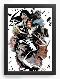 Quadro Decorativo A3 (45x33) Anime Bleach