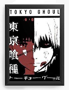 Quadro Decorativo A3 (45x33) Anime Tokyo Ghoul