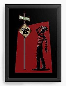 Quadro Decorativo A3 (45x33)  Freddy Krueger Dead End