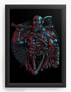 Quadro Decorativo A3 (45x33) God of War