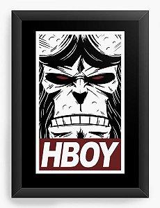 Quadro Decorativo A3 (45x33) Hellboy