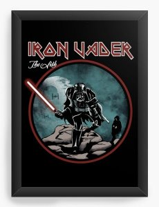 Quadro Decorativo A3 (45x33) Iron Vader
