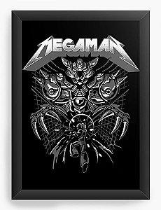 Quadro Decorativo A3 (45x33) Megaman