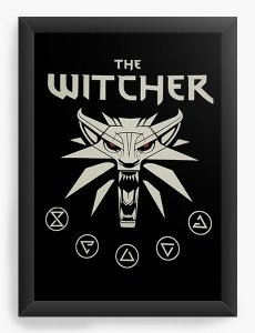 Quadro Decorativo A3 (45x33) The Witcher