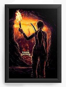 Quadro Decorativo A3 (45x33) Tomb Raider