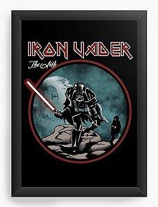 Quadro Decorativo A4 (33X24) Iron Vader