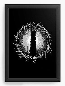 Quadro Decorativo A4 (33X24) Lord of Ring