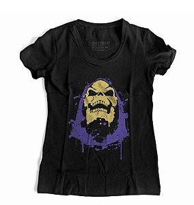 Camiseta Feminina 17163 Esqueleto He Man