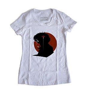 Camiseta Feminina Anime Cowboy Bebop Space Smoke