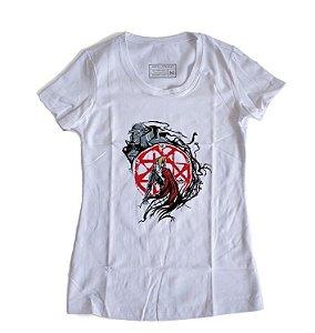 Camiseta Feminina Anime FullMetal Alchemist