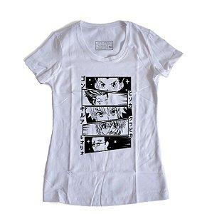 Camiseta Feminina Anime Hunter-x-Hunter