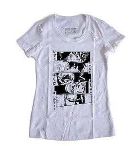 Camiseta Feminina Anime My Hero Academia