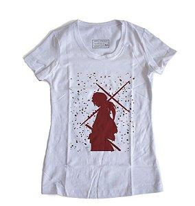 Camiseta Feminina Anime Samurai X