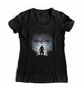 Camiseta Feminina Elder Scroll