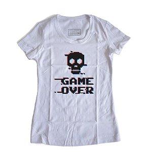 Camiseta Feminina Game Over