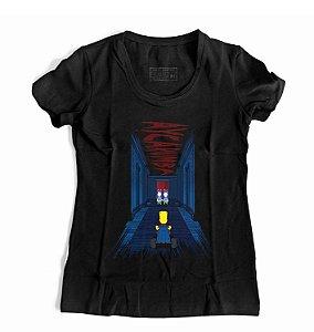 Camiseta Feminina Hotel Simpson
