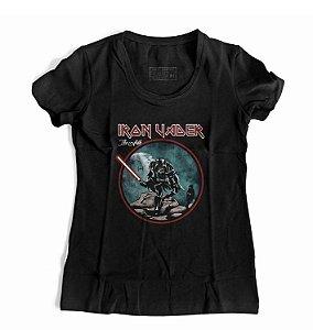 Camiseta Feminina Iron Vader