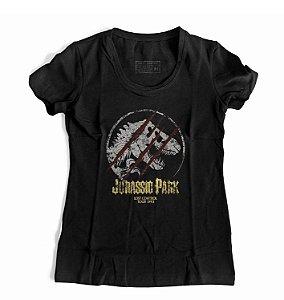 Camiseta Feminina Jurassik Park
