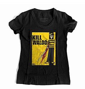 Camiseta Feminina Kill Waldo Wally