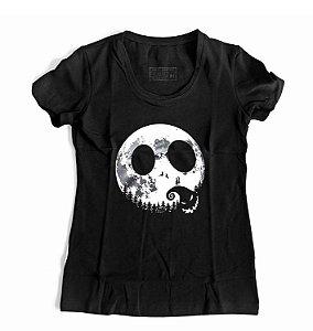 Camiseta Feminina O ESTRANHO MUNDO DE JACK