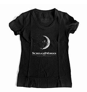 Camiseta Feminina Pânico Scream Works