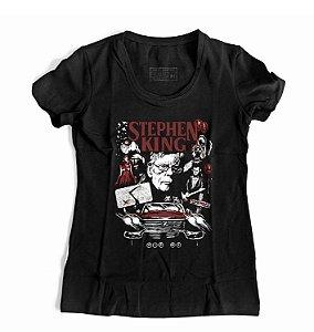 Camiseta Feminina Stephen King