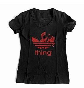 Camiseta Feminina Stranger Things