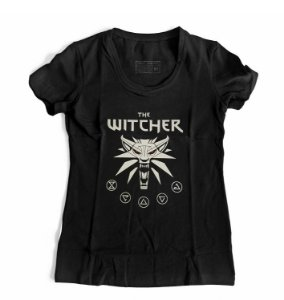 Camiseta Feminina The Witcher Simbol