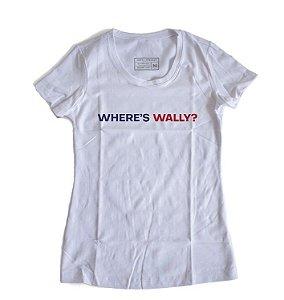 Camiseta Feminina Where's Wally