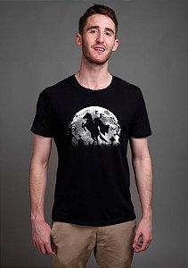 Camiseta Masculina A Lenda do Cavaleiro sem Cabeça