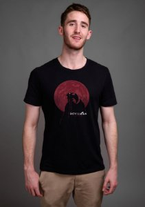 Camiseta Masculina Anime Devilman Crybaby Moon