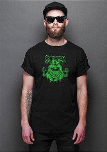 Camiseta Masculina Caça Fantasmas - Slimer