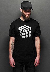 Camiseta Masculina Cubo Mágico
