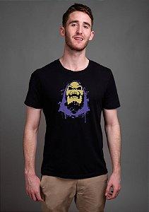 Camiseta Masculina Esqueleto He Man