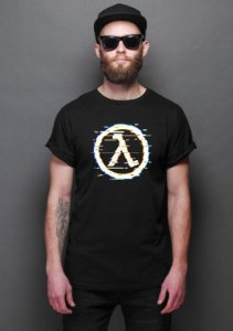 Camiseta Masculina Glitch Half Life
