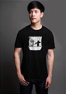 Camiseta Masculina Itchy & Scratchy