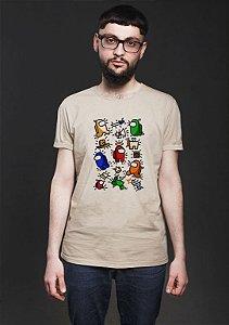 Camiseta Masculina Jogo Among us Impostor