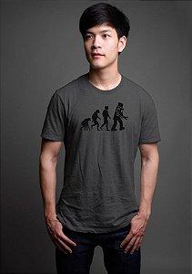 Camiseta Masculina Série The Big Bang Theory  Evolution