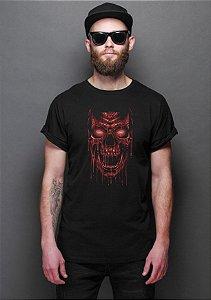 Camiseta Masculina Skull Blood