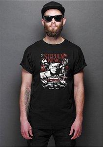 Camiseta Masculina Stephen King