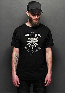 Camiseta Masculina The Witcher Simbol
