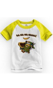 Camiseta Infantil Minion - Nerd e Geek - Presentes Criativos