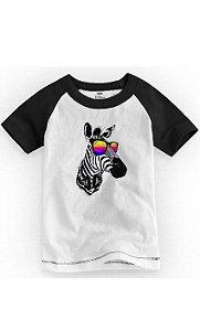 Camiseta Infantil Zebra Style - Nerd e Geek - Presentes Criativos